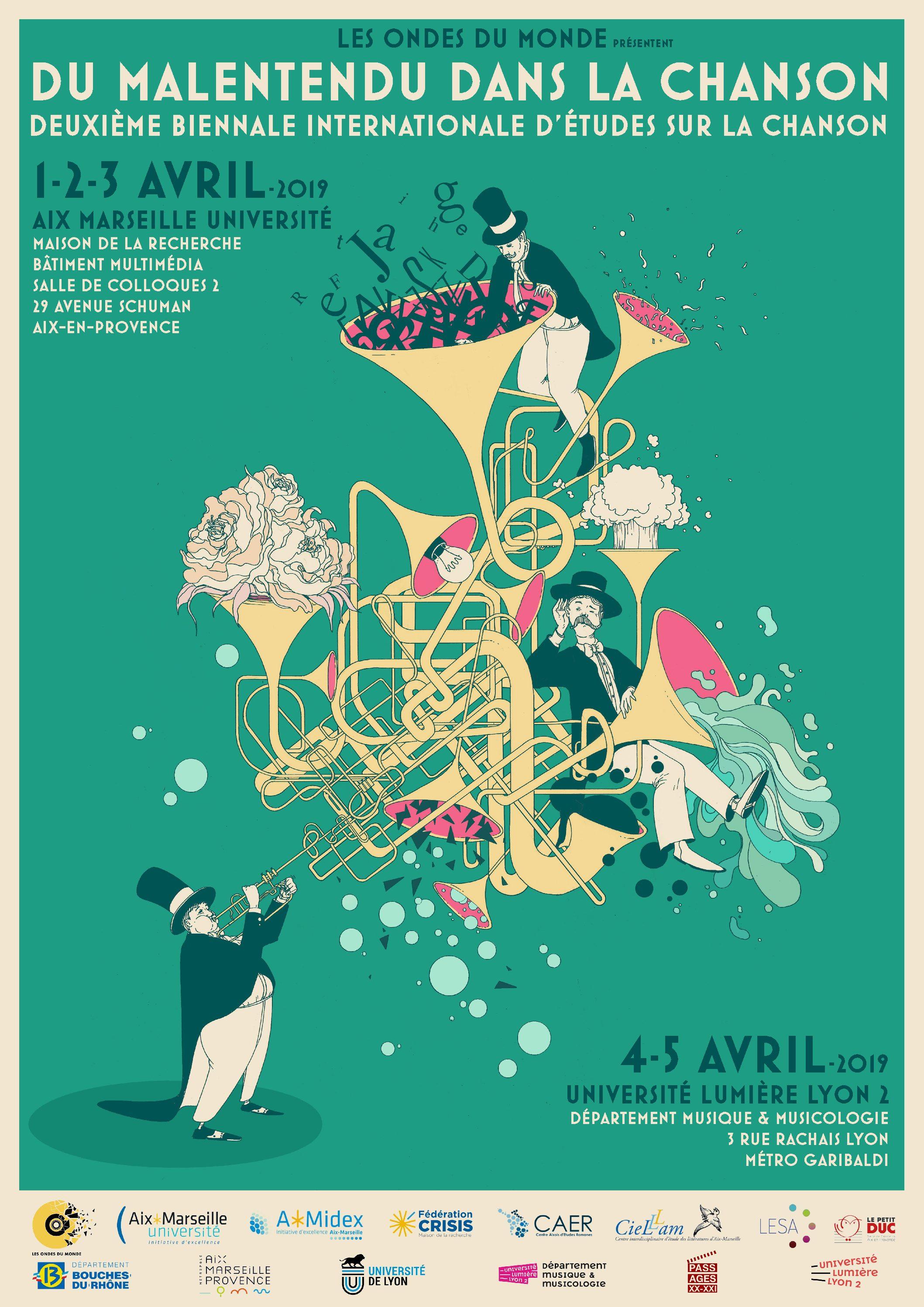 2e Biennale internationale d'études sur la chanson : Du malentendu dans la chanson
